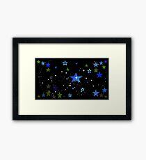 Stars for Night People Framed Print