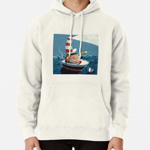 Ship Ahoy! Pullover Hoodie