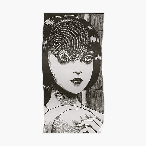 Junji Ito : Uzumaki (Edit) Poster