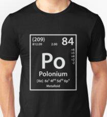 Polonium Element Unisex T-Shirt