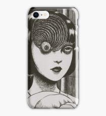 Junji Ito : Uzumaki (Edit) iPhone Case/Skin