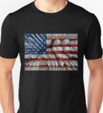 USA 3D Flag Unisex T-Shirt