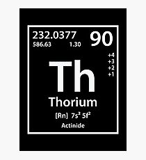 Thorium Element Photographic Print