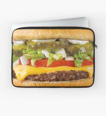 Saftiger Cheeseburger Laptoptasche