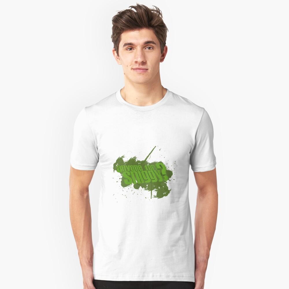 Sniggy Unisex T-Shirt Front