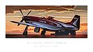 "P-51 Mustang ""Strega"" by Kristoffer Glenn Pfalmer"
