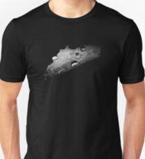 Night Rain: Black and White Unisex T-Shirt