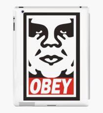 obey the giant iPad Case/Skin