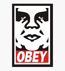 obey the giant Photographic Print
