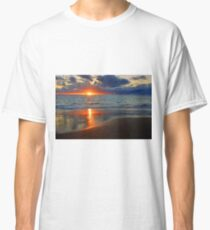 Sunset At Point Peron  Classic T-Shirt
