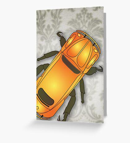 Christmas Beetle Greeting Card