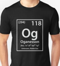 Oganesson Element T-Shirt