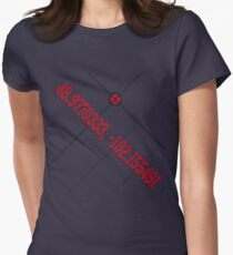 Secret Coordinates to Eden (Logan and Laura) Womens Fitted T-Shirt
