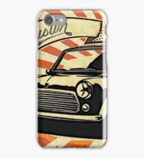 Austin mini Retro iPhone Case/Skin