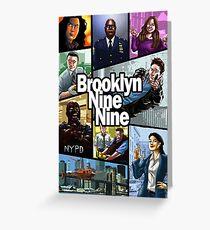 brooklyn nine nine Greeting Card