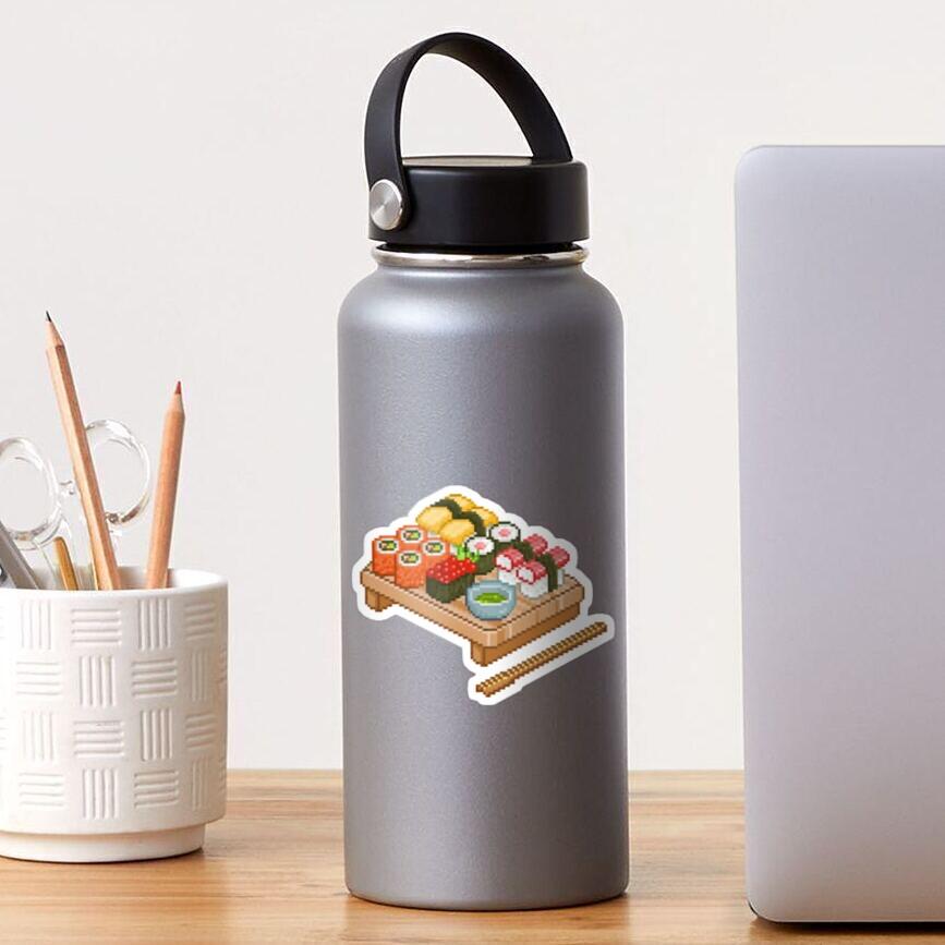 Sticker «Pixel Sushi»