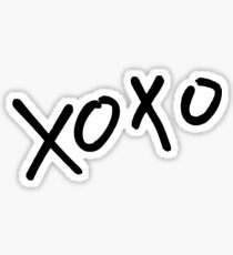 xoxo exo Sticker