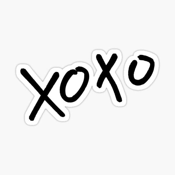 xoxo exo Sticker