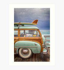 surf buggy Art Print