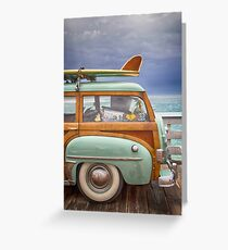 surf buggy Greeting Card