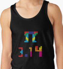 Pi Block Puzzle Video Game Math Pi Day T-Shirt Tank Top