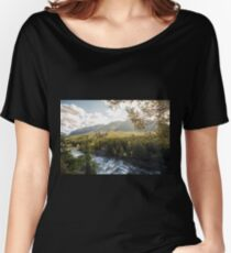 Banff, Alberta - Banff Springs Hotel Women's Relaxed Fit T-Shirt