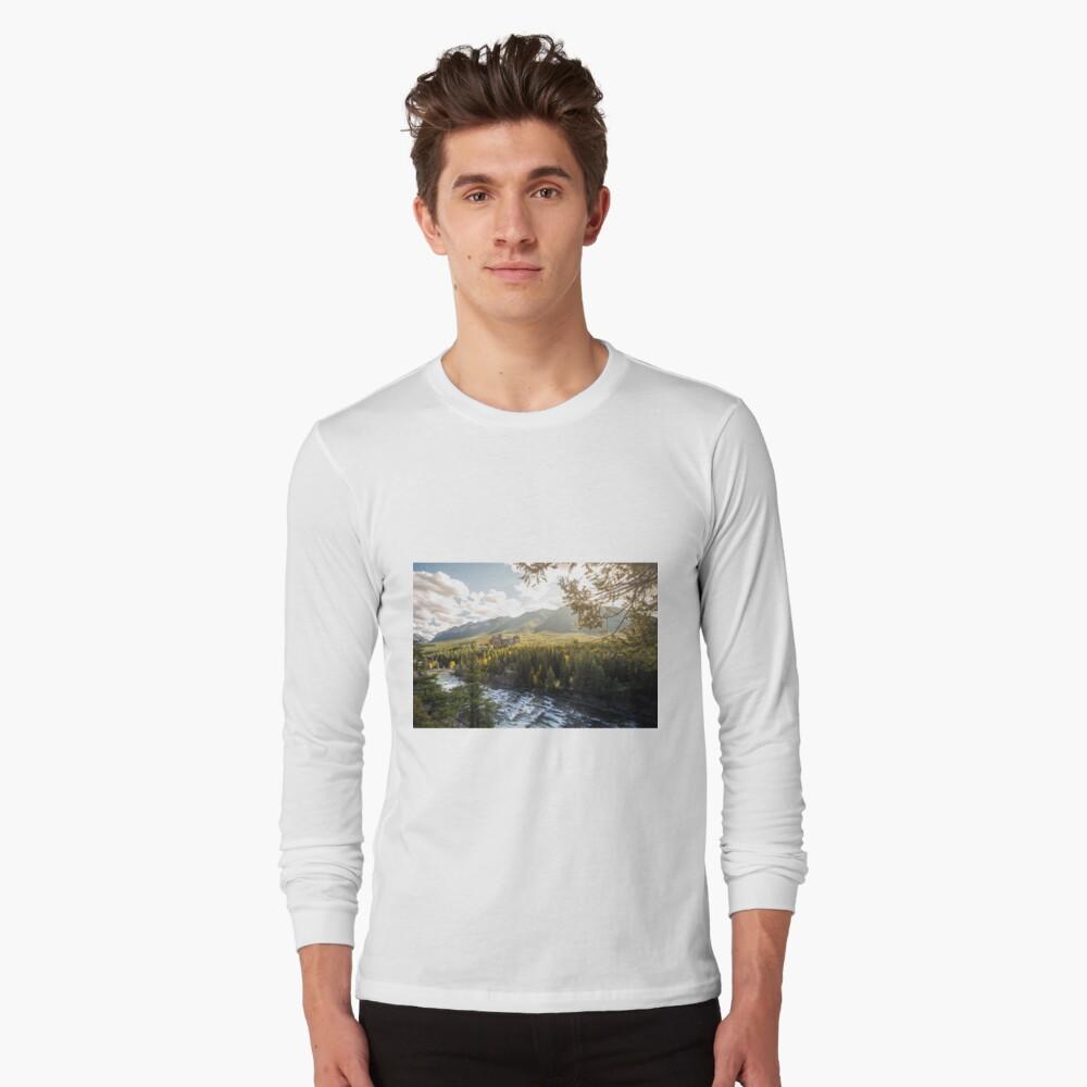 Banff, Alberta - Banff Springs Hotel Long Sleeve T-Shirt Front
