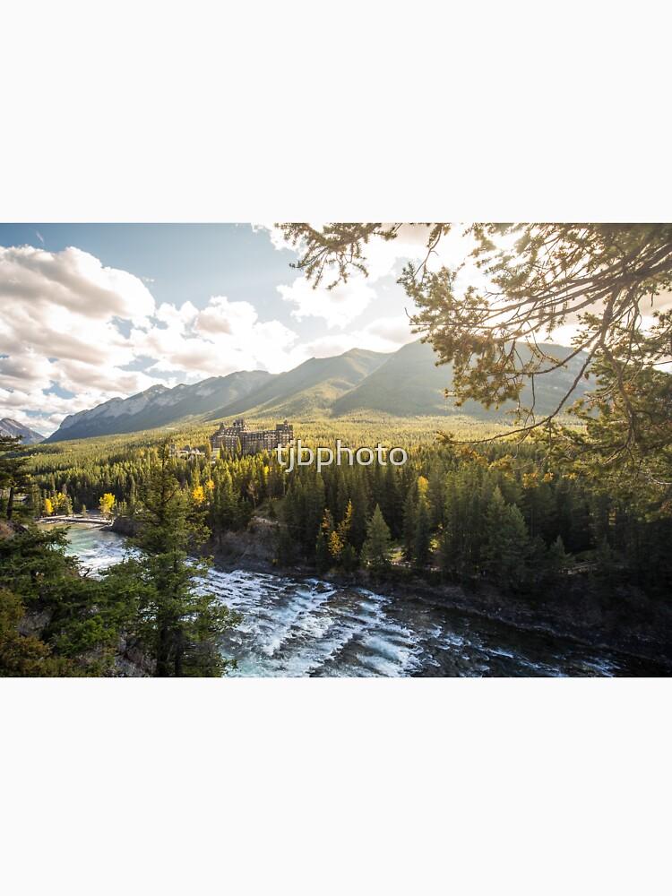 Banff, Alberta - Banff Springs Hotel by tjbphoto