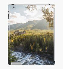 Banff, Alberta - Banff Springs Hotel iPad Case/Skin