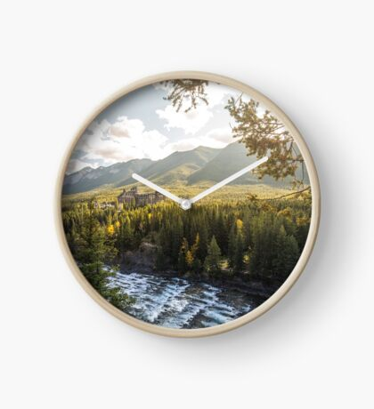 Banff, Alberta - Banff Springs Hotel Clock