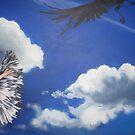 Feathergirl by angel strehlen