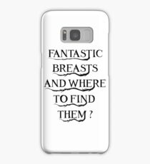 Fantastic Breasts Samsung Galaxy Case/Skin