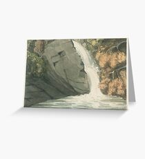 George Romney    A Waterfall, Greeting Card