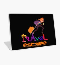 Travel Tshirt Graphic Illustration  Laptop Skin