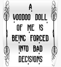 Voodoo doll Poster