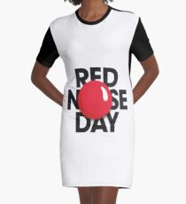 red nose day t shirts 2017 Graphic T-Shirt Dress