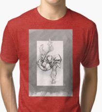 THROW 3_FADE Tri-blend T-Shirt
