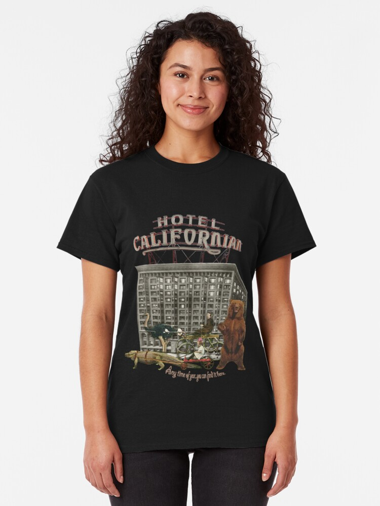 Alternate view of Hotel CA  Classic T-Shirt
