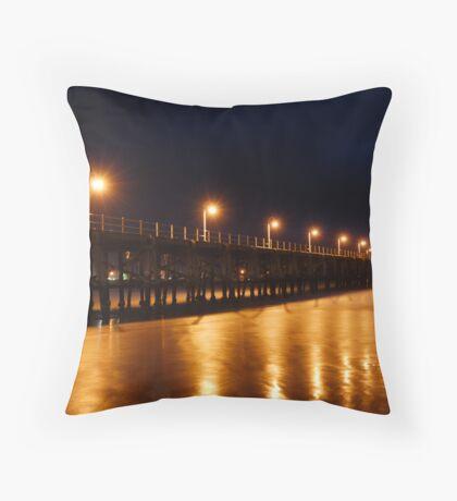 Coffs Harbour Jetty Throw Pillow