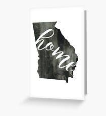 georgia is home Greeting Card