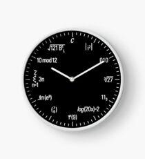 Math Clock Clock