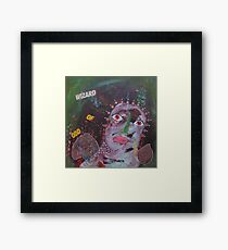 Outsider Art Wizard Of Odd Framed Print