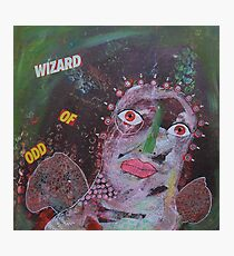 Outsider Art Wizard Of Odd Photographic Print