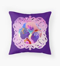 Stardust and Glitter Anthy and Utena Throw Pillow