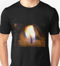 Festive candle light flame T-Shirt