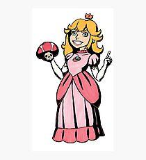 Princess Peach Photographic Print