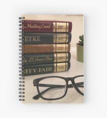 Literature Lover Spiral Notebook