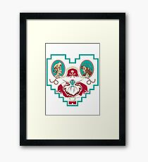 i'm hooked on you baby Framed Print