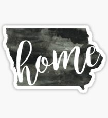 iowa is home Sticker