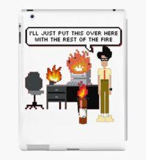 I.T. Crowd- Fire 8-Bit iPad Case/Skin